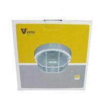 โคมตะแกรงกันฝน ทรงกลม VETO 6001S/P E27