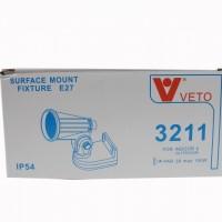 ขาสปอตไลท์ แบบแป้น VETO 3211 E27