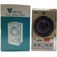 สวิทช์ตั้งเวลา VETO TB-17 15A 220/230V