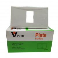 แผงหน้า 1 ช่อง VETO PLATA VTP-7701W