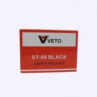 เซฟตี้เบรคเกอร์ VETO ST-88 2P 1E 10A สีดำ 240V