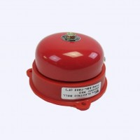 กระดิ่งไฟฟ้า 3 นิ้ว VETO EBL7502 สีแดงกลม รุ่นใหม่