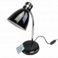 โคมไฟตั้งโต๊ะ HD2011 E27 สีดำ/โครเมี่ยม ไม่รวมหลอด