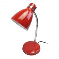 โคมไฟตั้งโต๊ะ HD2011 E27 สีแดง/โครเมี่ยม ไม่รวมหลอด