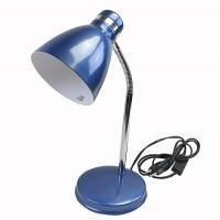 โคมไฟตั้งโต๊ะ HD2011 E27 สีน้ำเงิน/โครเมี่ยม ไม่รวมหลอด