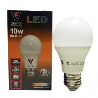 VETO หลอดประหยัดไฟ LED 10W E27 วอมไวท์