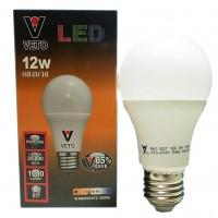 VETO หลอดประหยัดไฟ LED 12W E27 วอมไวท์